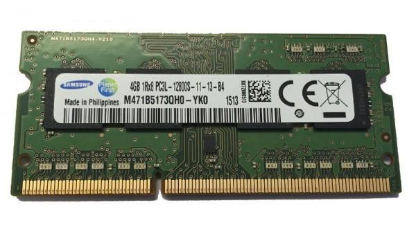 Arbeitsspeicher Samsung 4GB SO DIMM DDR3 1600MHz PC3 12800