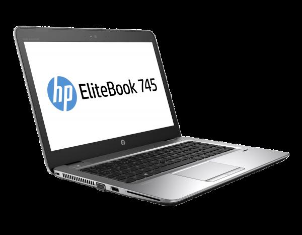 HP EliteBook 745 G4 14 Zoll 1920x1080 Full HD AMD Pro A10 256GB SSD 8GB Windows 10 Pro Webcam