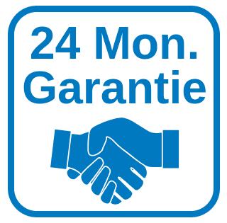 24 Monate Garantie / 30 Tage Rückgaberecht